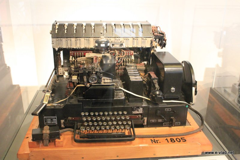 A German Enigma machine displayed the essential attributes of good software.
